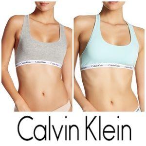 Set of 2 Calvin Klein Carousel Bralettes